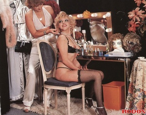 Nasty ladies attend a mafia sex party - XXX Dessert - Picture 3