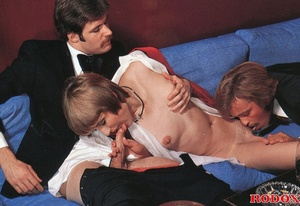 Nasty ladies attend a mafia sex party - XXX Dessert - Picture 13