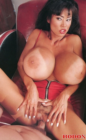 Asian chick with huge tits rides hard - XXX Dessert - Picture 8