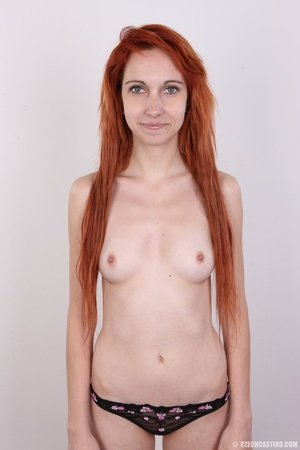 Hot young redhead strips naked and expos - XXX Dessert - Picture 12
