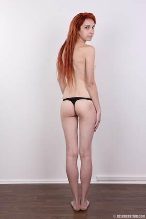 Hot young redhead strips naked and expos - XXX Dessert - Picture 17