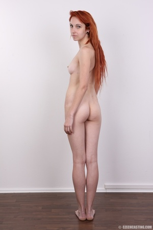 Hot young redhead strips naked and expos - XXX Dessert - Picture 20