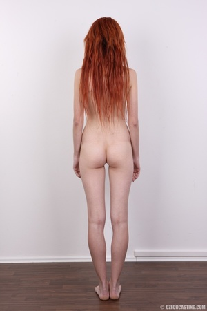 Hot young redhead strips naked and expos - XXX Dessert - Picture 21