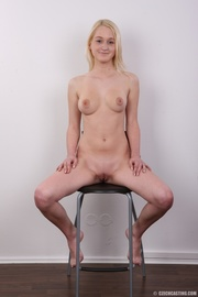 young blonde has tight