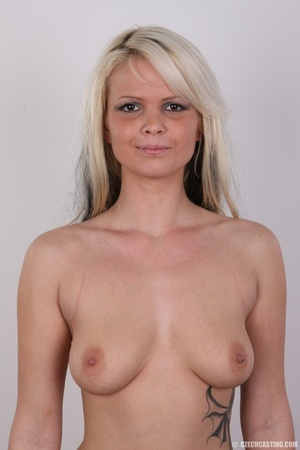 Blondie with pierce and tattoos strips l - XXX Dessert - Picture 15