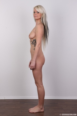 Blondie with pierce and tattoos strips l - XXX Dessert - Picture 18