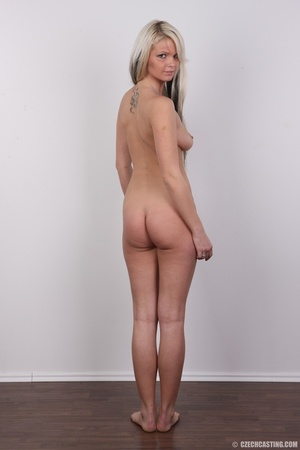 Blondie with pierce and tattoos strips l - XXX Dessert - Picture 21