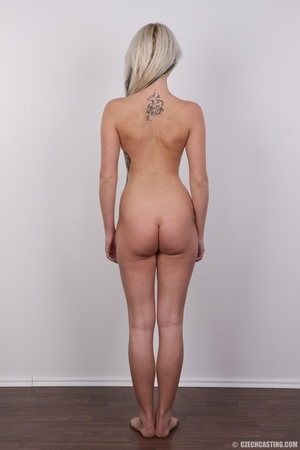 Blondie with pierce and tattoos strips l - XXX Dessert - Picture 22