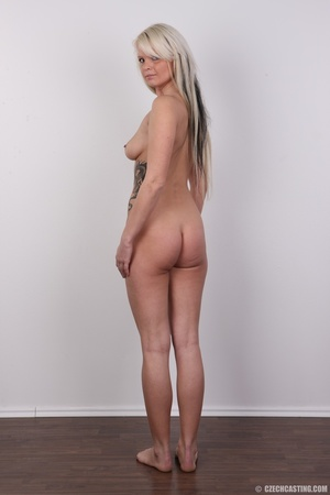 Blondie with pierce and tattoos strips l - XXX Dessert - Picture 23