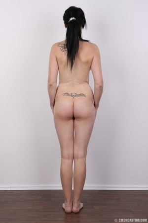 Tattoed girl with eyeglasses hides a dee - XXX Dessert - Picture 16