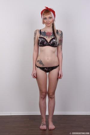 Hot tattoed slut submits her wet drippin - XXX Dessert - Picture 9