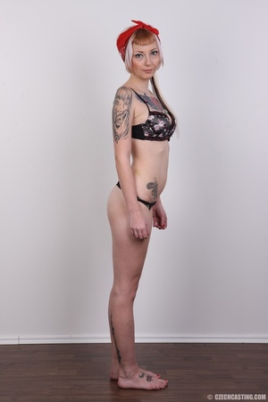 Hot tattoed slut submits her wet drippin - XXX Dessert - Picture 10
