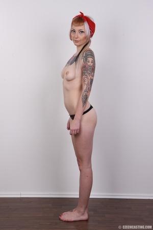 Hot tattoed slut submits her wet drippin - XXX Dessert - Picture 11