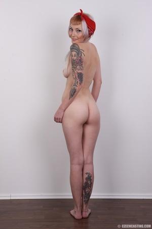 Hot tattoed slut submits her wet drippin - XXX Dessert - Picture 20