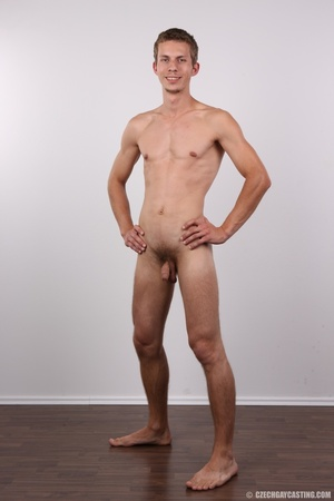 Skinny blonde guy has the fuck of his li - Picture 19