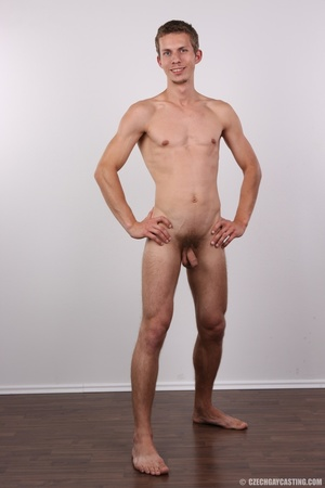 Skinny blonde guy has the fuck of his li - Picture 22