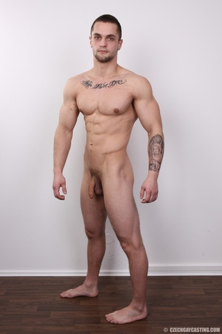 tattooed guy likes hard