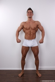 hot bodybuilder will shoot