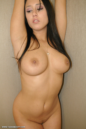 Erotic chick with long black hair displa - XXX Dessert - Picture 10