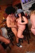 BBW sex action as three fat kinky chicks enjoy sex party with three horny