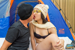 Slim young cute shemale in glasses sucks - XXX Dessert - Picture 4