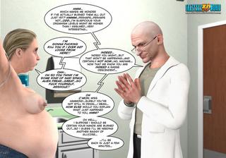 pervert doctor watching topless