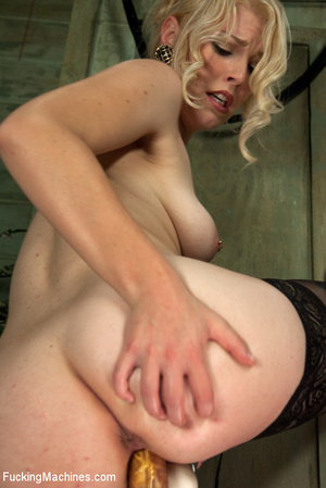 Very sexy blonde uses big dildo and gets - XXX Dessert - Picture 15