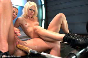 Hot automated banging as two chicks enjo - XXX Dessert - Picture 2