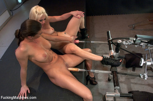 Hot automated banging as two chicks enjo - XXX Dessert - Picture 6