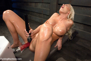 Lusty girl feeling horny quenches thirst - XXX Dessert - Picture 13