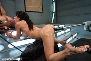 Double auto fucking as two chicks touch  - XXX Dessert - Picture 5