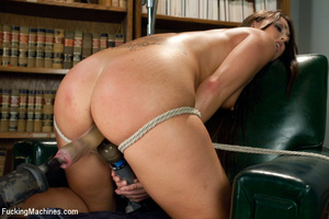 Hardcore automated fucking as chick has  - XXX Dessert - Picture 14