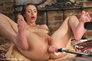 Sex machines fucks cute babe hard and st - XXX Dessert - Picture 13