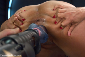 Kinky automated fucking action as cute s - XXX Dessert - Picture 10