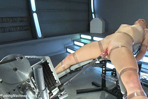 Fucking machines used by horny babe to b - XXX Dessert - Picture 14