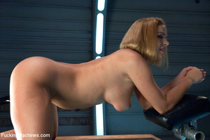 Lusty chick with cute booty enjoys being - XXX Dessert - Picture 4