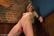 sexy chick loves playing