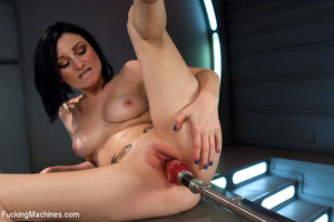 Naughty babe loves playing with herself  - XXX Dessert - Picture 11