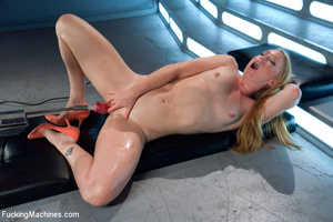 Lovely babe has wild time as she enjoys  - XXX Dessert - Picture 12