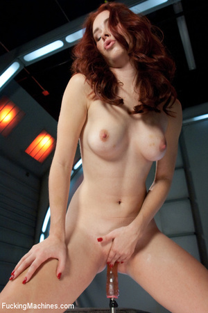 Great automated fucking action as sweet  - XXX Dessert - Picture 1