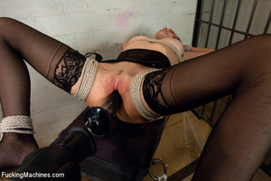 Kinky action as hot looking chick plays  - XXX Dessert - Picture 4