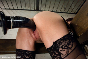 Kinky action as hot looking chick plays  - XXX Dessert - Picture 9