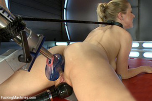 Pretty girl enjoys hot and fast automate - XXX Dessert - Picture 14