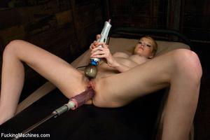Steamy fast fucking action as sex machin - XXX Dessert - Picture 13