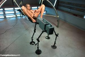 Hot machine sex as seductive hottie gets - XXX Dessert - Picture 9