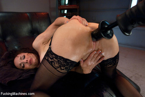 Pretty sexy damsel moans all the way to  - XXX Dessert - Picture 11
