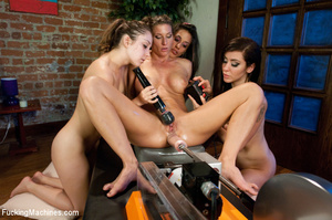 Hot mechanized fucking girls get real fr - XXX Dessert - Picture 13