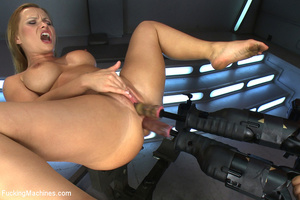 Sweet mechanical fucking as horny chick  - XXX Dessert - Picture 7
