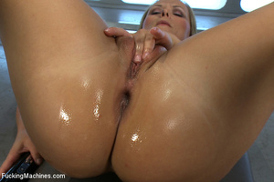 Sweet mechanical fucking as horny chick  - XXX Dessert - Picture 11