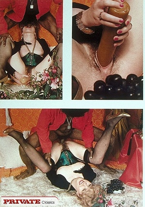 Retro sexy babes with cum all over their - XXX Dessert - Picture 8